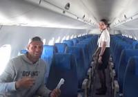 Chỉ có một hành khách, máy bay Philippines vẫn đồng ý bay