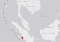 Động đất 6,5 độ Richter rung chuyển đảo  Sumatra Indonesia