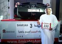Triệu phú Ả Rập chi gần 5 triệu USD để mua biển số xe 'độc'