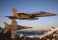 Chiến đấu cơ Thụy Sĩ mất tích, nghi đâm vào núi
