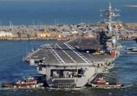 Lính thủy Mỹ bất ngờ sinh con trên tàu sân bay