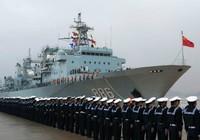 Đội tàu hải quân Trung Quốc rầm rộ thăm Campuchia
