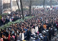 Gần 10.000 người tranh nhau xin làm 'phục vụ trà nước'