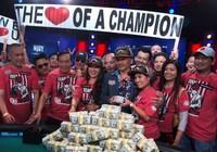 Người Việt trên đất Mỹ vô địch giải Poker 8 triệu USD