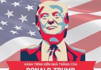 Nhìn lại con đường đến Nhà Trắng của ông Donald Trump