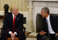 Giải mã cử chỉ của Obama và Trump tại Nhà Trắng