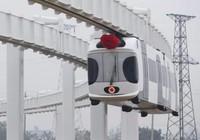 Trung Quốc sắp có tàu lửa 'treo lơ lửng' giữa trời