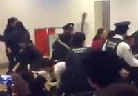 Gần 100 du khách Trung Quốc ẩu đả an ninh sân bay Nhật