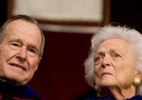 Vợ chồng cựu Tổng thống Bush 'cha' nhập viện cùng lúc