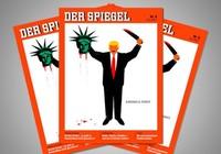 Tạp chí Đức bảo vệ biếm họa 'nhạy cảm' về ông Trump