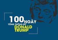 Dấu ấn 100 ngày đầu cầm quyền của ông Trump