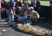 Giẫm đạp kinh hoàng ở sân vận động quốc gia Honduras