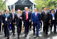 Hình ảnh Việt Nam mở đầu clip ông Trump cảm ơn châu Á