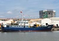Bàn giao tàu trinh sát hiện đại cho Bộ Tư lệnh Cảnh sát biển
