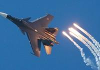 Tiêm kích Su-30SM Nga đọ sức F-16 Mỹ ở Syria