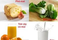 Ăn gì giúp tăng chiều cao?