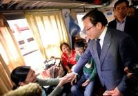 Tân Bí thư Hà Nội kiểm tra nhà ga, bến xe phục vụ dân trở lại sau Tết