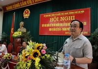 Bí thư Hà Nội Hoàng Trung Hải hứa 'bảo vệ quyền lợi của cử tri'