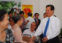 Ông Trương Tấn Sang, ông Nguyễn Tấn Dũng đi bầu cử ở TP.HCM