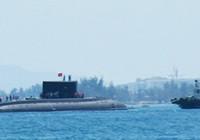 Quân cảng Cam Ranh đón tàu ngầm 185- Khánh Hòa