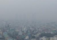 Sương mù bảng lảng ở Sài Gòn