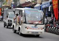 Mở xe điện phục vụ khách du lịch kênh Nhiêu Lộc - Thị Nghè