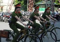 Cảnh sát khu vực Huế sẽ tuần tra bằng xe đạp