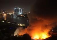 Vụ cháy gần Cảng Sài Gòn không phải do đốt