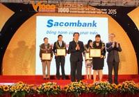 Sacombank: Top 1.000 DN nộp thuế thu nhập doanh nghiệp lớn nhất 2015