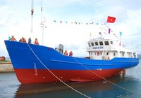 Ninh Thuận: Hạ thủy tàu vỏ thép mang tên Hoàng Sa