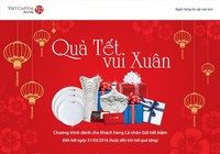 Viet Capital Bank tặng hàng ngàn  quà tết cho khách hàng