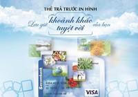 Sacombank phát hành thẻ visa in hình