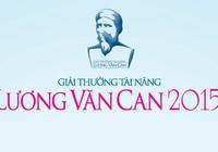Phát động giải thưởng tài năng Lương Văn Can dành cho sinh viên