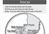 Sở GD-ĐT TP HCM làm đầu mối cho các cụm thi