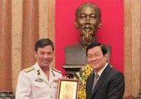 Chủ tịch nước giao nhiệm vụ cho Hải quân Việt Nam