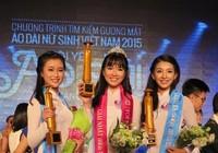 Ngắm nữ sinh Việt Nam trong đêm chung kết Miss Áo dài