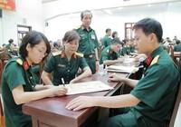 Điểm chuẩn hệ quân sự các trường quân đội