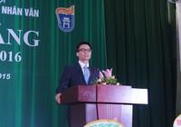 PTT Vũ Đức Đam dự khai giảng trường Đại học KHXH&NV