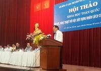 Chủ tịch nước Trương Tấn Sang: 'Cần xây dựng hệ con người phát triển toàn diện'