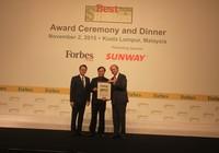 Điện Quang góp mặt trong Top 200 DN doanh thu dưới 1 tỷ USD tốt nhất Châu Á
