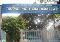Trường Phổ thông Năng khiếu TP.HCM tuyển 600 chỉ tiêu lớp 10