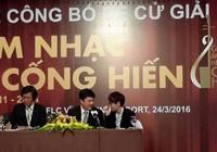 Giải thưởng âm nhạc Cống hiến chưa vinh danh nhạc sĩ Trần Lập