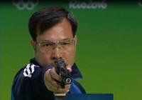 Phát đạn cuối giúp Hoàng Xuân Vinh giành huy chương vàng Olympic