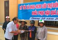KTX ĐHQG TP.HCM góp hơn 400 triệu ủng hộ miền Trung