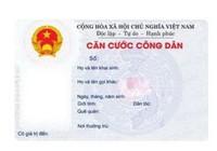 Lệ phí cấp mới thẻ Căn cước công dân