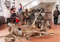 Ngỡ ngàng bảo tàng nông cụ giữa miền quê