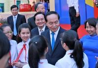 Chủ tịch nước dự khai giảng ở trường 100 năm tuổi