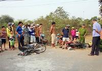 Xe biển số Lào gây tai nạn liên hoàn