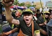 Biểu tình lớn ở lãnh thổ Đài Loan
