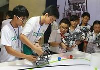 Trường THCS Hồng Bàng và Chu Văn An vô địch Robotacon TP.HCM